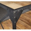 Ascot Industrial Coffee Table