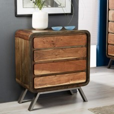 Aspen Industrial Chest of 4 Drawers