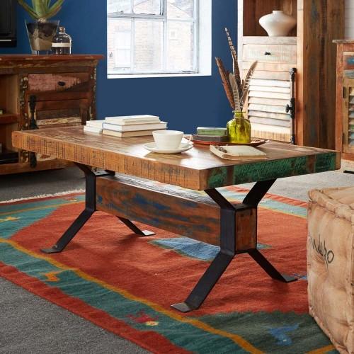 Coastal Reclaimed Industrial Coffee Table