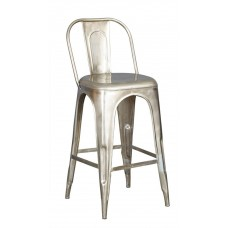 Cosmo Industrial Metal Stool