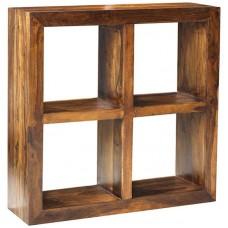 Cube Sheesham Industrial 4 Hole Shelf