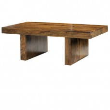 Cube Sheesham Industrial Coffee Table