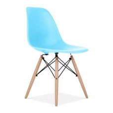 Eames Inspired DSW Dining Chair in Light Blue