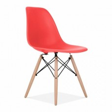 Eames Inspired DSW Dining Chair in Red