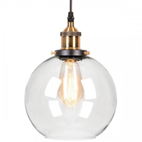 Edison Glass Bowl Light Clear