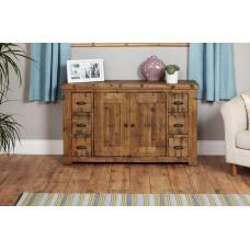 Heyford Oak Industrial Style Sideboard