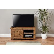 Heyford Oak Industrial Style TV Cabinet