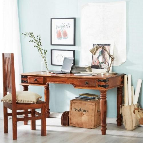 Industrial Style Jali Sheesham Desk