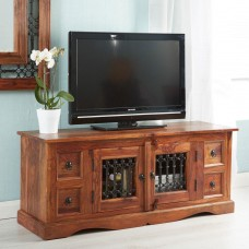 Industrial Style Jali Media Unit