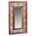 Industrial Style Jali Sheesham Mirror
