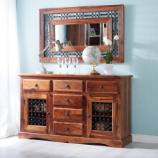 Industrial Style Jali Large Sideboard