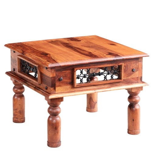 Industrial Style Jali Small Coffee Table