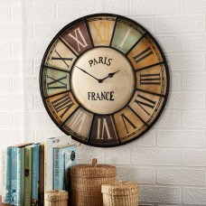 Chalet Industrial Clock