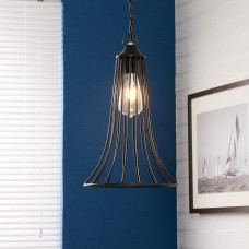 Industrial Style Iron Cone Cage Lamp