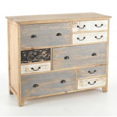 Piccadilly Industrial Style Wood Chest of Drawers