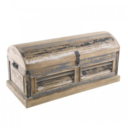 Piccadilly Industrial Style Wood Storage Trunk