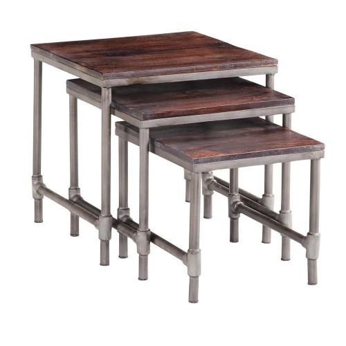 Santara Industrial Nest Of 3 Tables