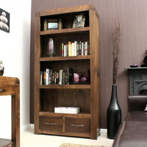 Shiro Retro Art Deco Industrial Large Bookcase