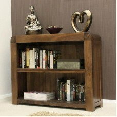 Shiro Retro Art Deco Industrial Low Bookcase