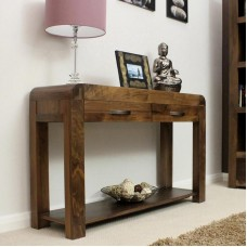 Shiro Retro Art Deco Industrial Console Table