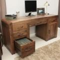 Shiro Retro Art Deco Industrial Desk