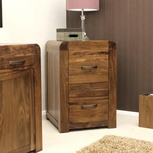 Shiro Retro Art Deco Industrial Filing Cabinet