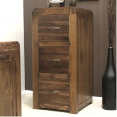 Shiro Retro Art Deco Industrial Filing Cabinet