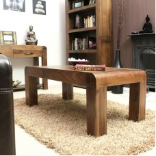 Shiro Retro Art Deco Industrial Coffee Table