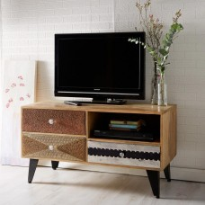 Sorio Upcycled Industrial Small Media Unit