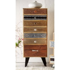 Sorio Upcycled Industrial Chest of Drawers