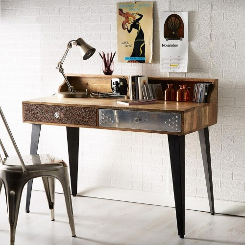 Sorio Upcycled Industrial Console Table
