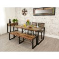 Urban Chic Industrial Dining Bench