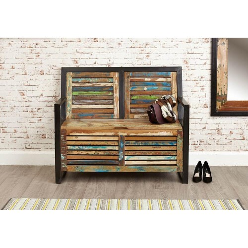 Urban Chic Industrial Monks Bench