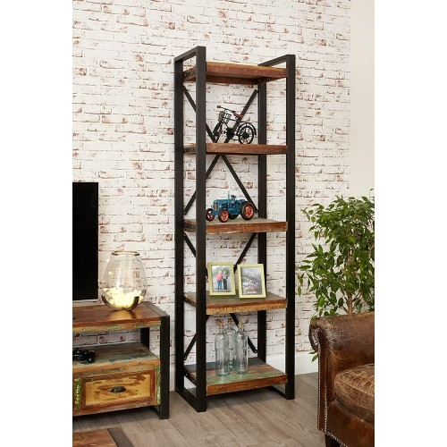 Urban Chic Industrial Alcove Bookcase