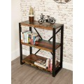 Urban Chic Industrial Low Bookcase