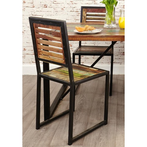 Urban Chic Industrial Dining Chair