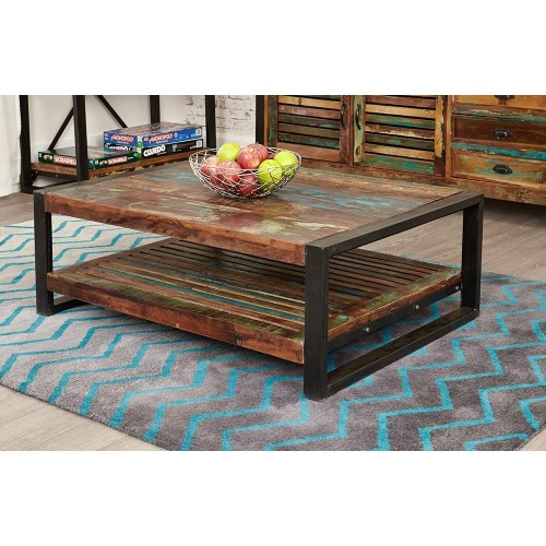 Urban Chic Industrial Coffee Table