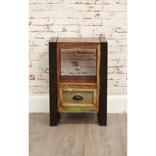 Urban Chic Industrial Bedside Cabinet