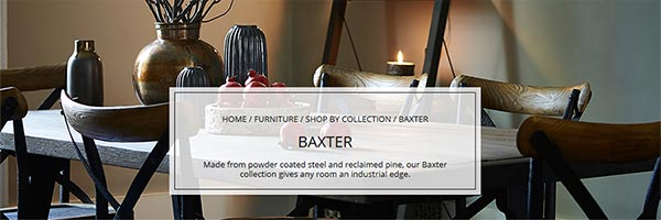 Baxter Furniture Roomset