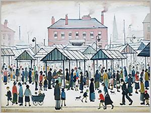 Painting by Lowry